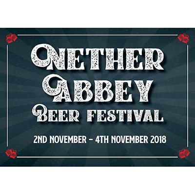 Nether Abbey festival logo