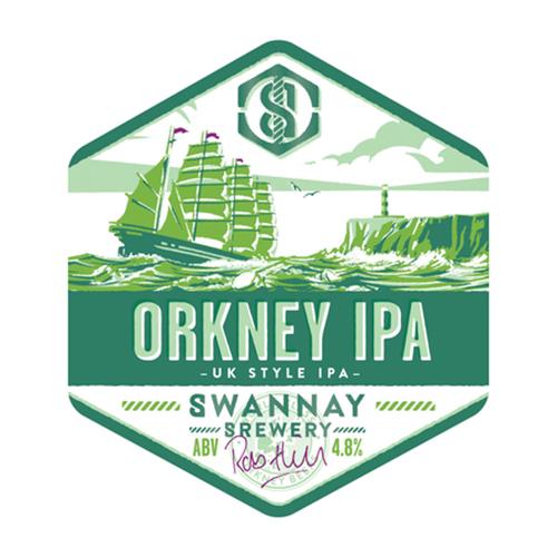 Swannay Orkney IPA Logo