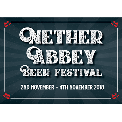 Nether Abbey festival logo